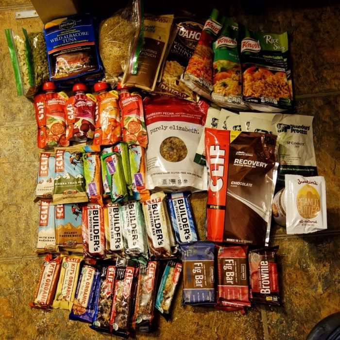 food to pack on pacific crest trail
