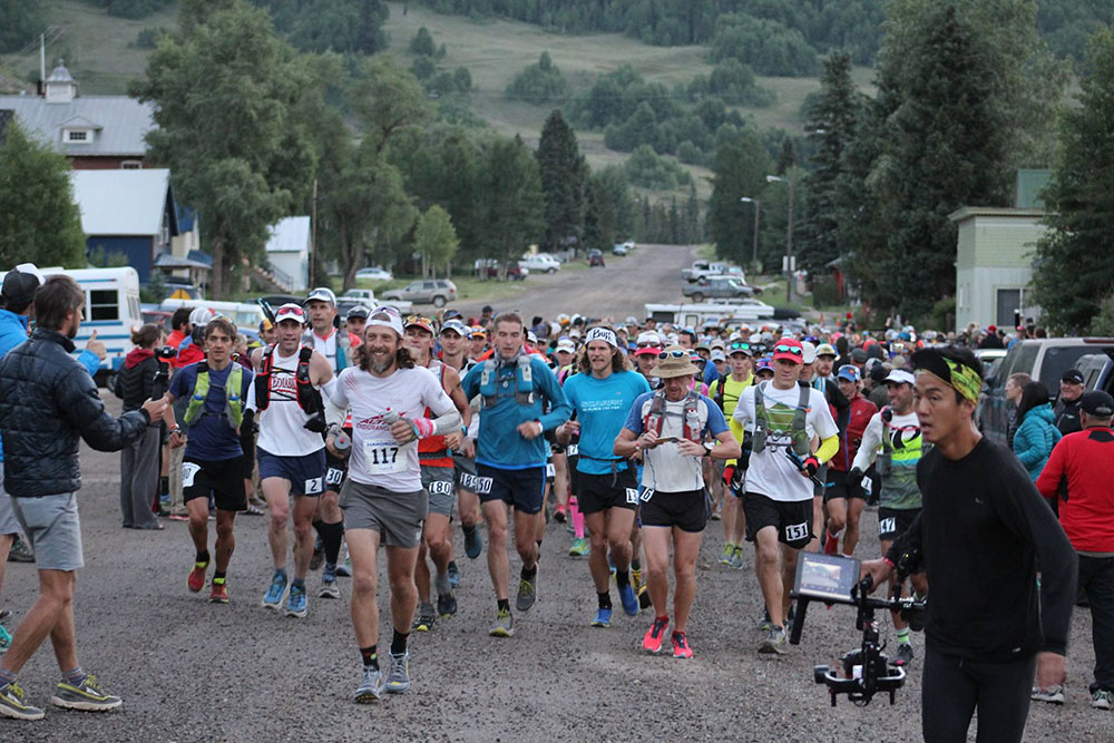 The start of the 2016 Hardrock 100. Photo by Alex Kurt