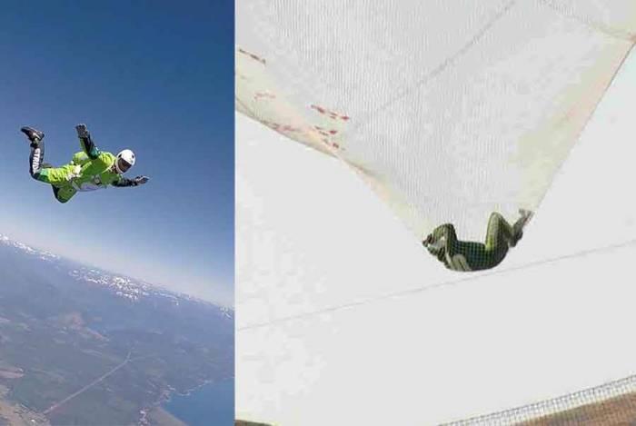 Skydiver Luke Aikins Jump Without parachute