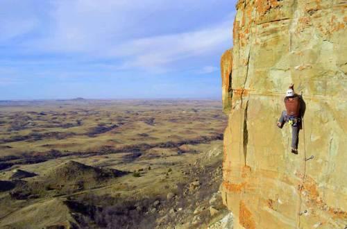 climbing-in-north-dakota