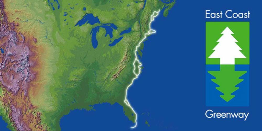 east coast greenway florida map