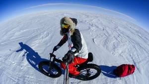 eric larsen bike selfie