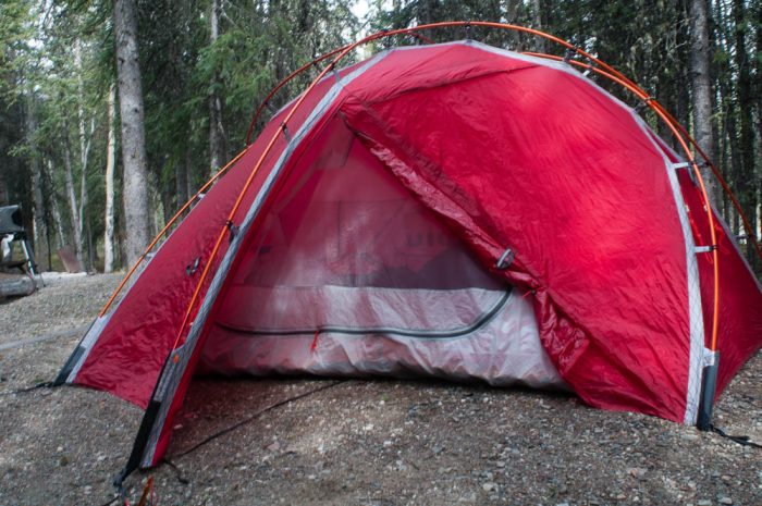 kuiu sleeping storm star tent review
