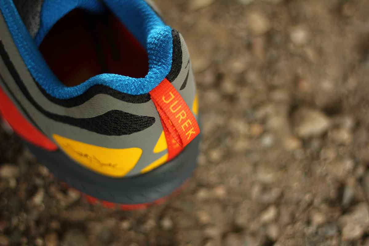 shoe tag says scott jurek