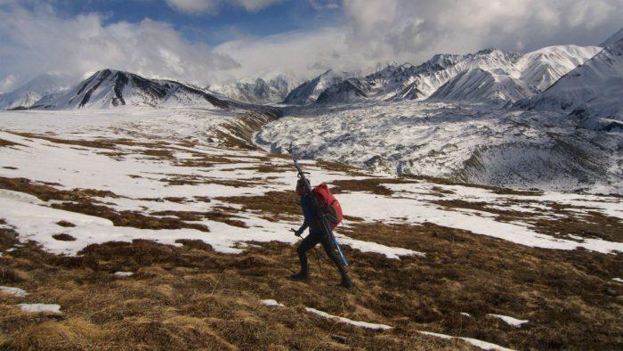 Skurka navigates Denali National Park, Alaska