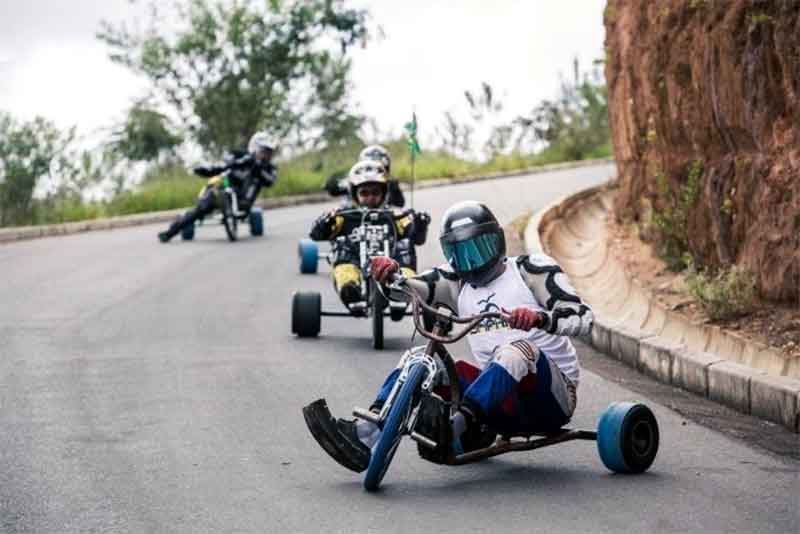 Drifting' On Pavement: Skid, Spin, Race On A Trike | GearJunkie