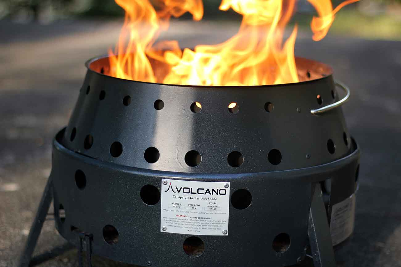 Volcano Grill Review A Versatile Outdoor Cooker Gearjunkie
