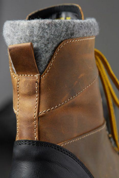 wool lined trail boot hood rubber