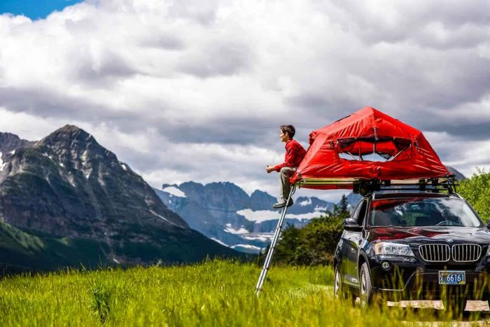 Yakima's Skyrise rooftop Tent