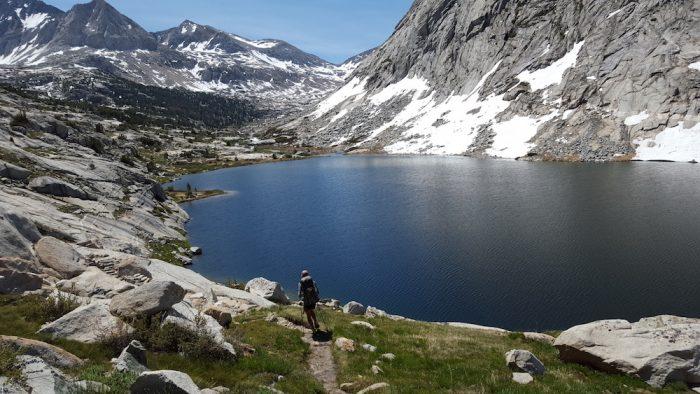 sierra mountain hiking