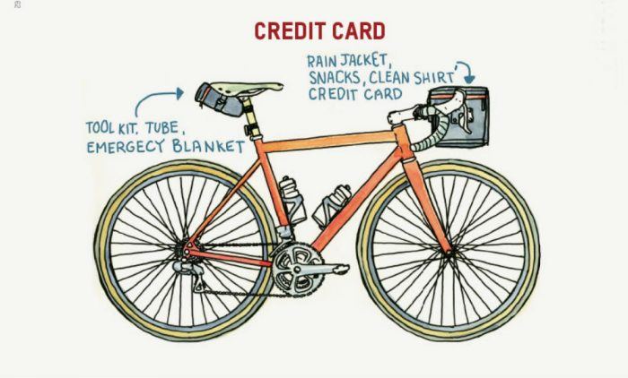 bike packing lite illustration