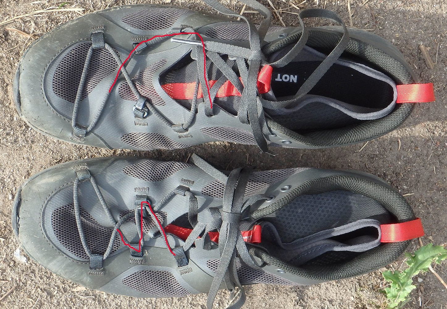 arc'teryx trail running shoe