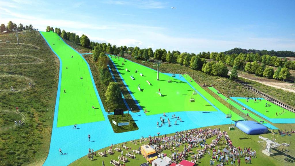 Plastic Ski Slope Coming To Minnesota