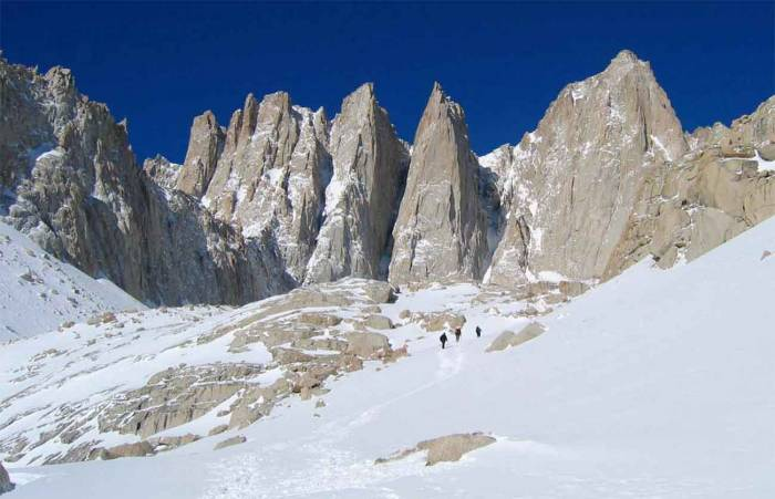 Mount Whitney, the dramatic highpoint of California