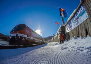 winter park ski train; photo Carl Frey/Winter Park Resort