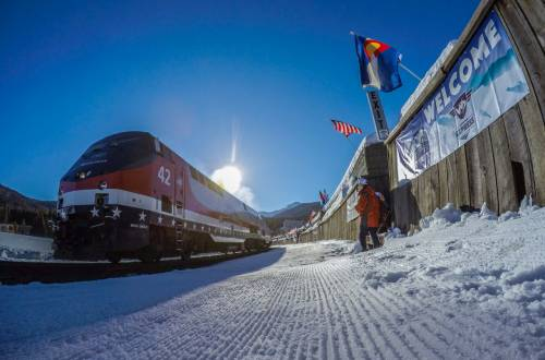 Amtrak Winter Express