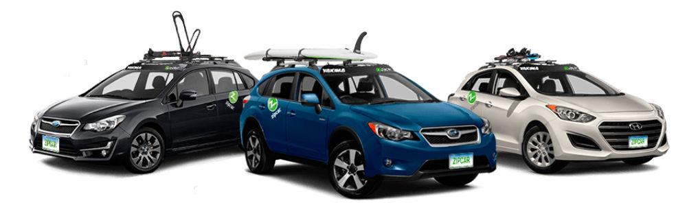 Car Share Giant Zipcar Gets Yakima Racks Gearjunkie