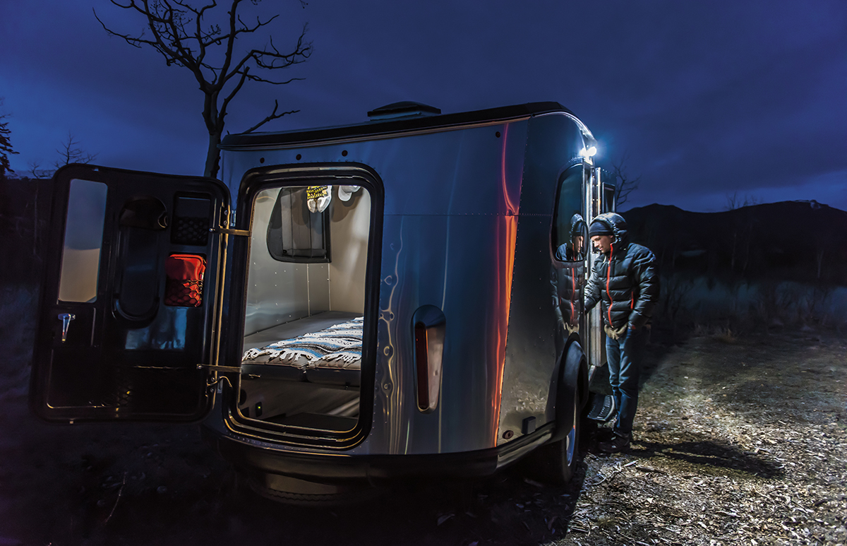Airstream Basecamp The Airstream You Can Pull Behind A