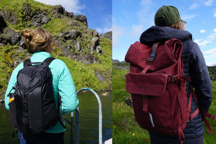 Day Pack Travel Backpacks Iceland