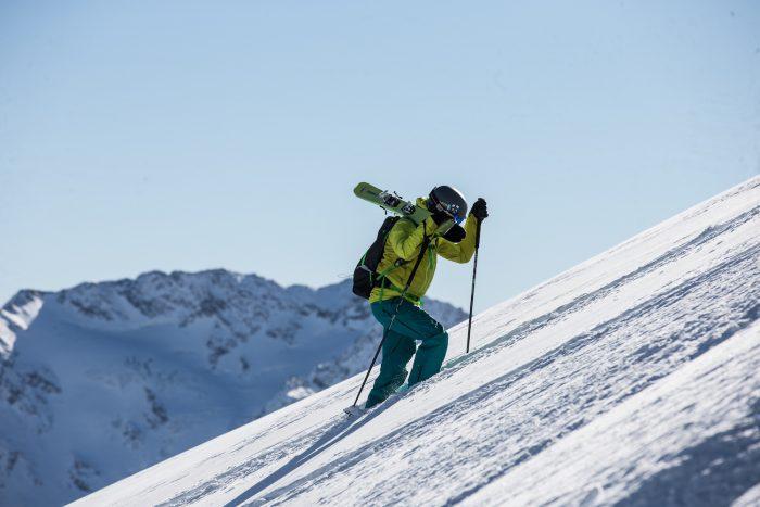 cody barnhill ski touring
