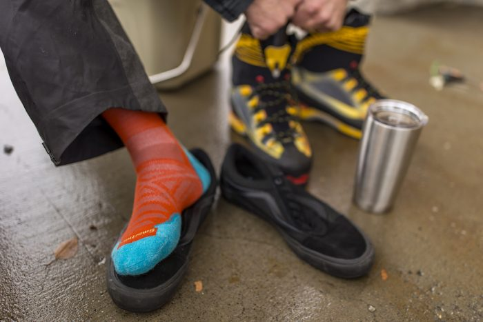 smartwool ice climbing socks