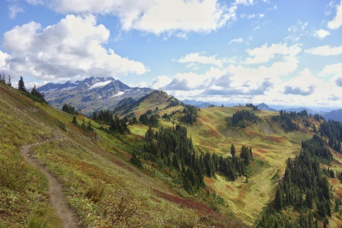 pacific crest trail washington state