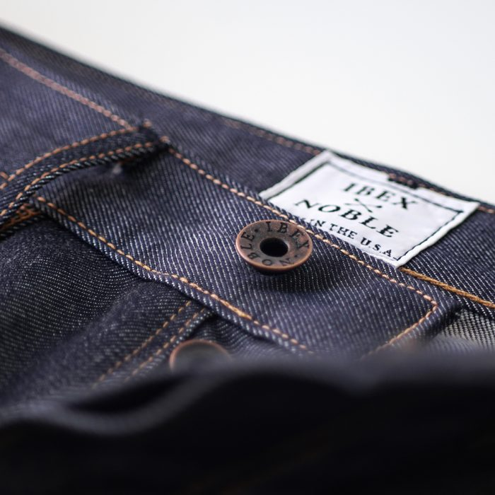 ibex noble wool denim