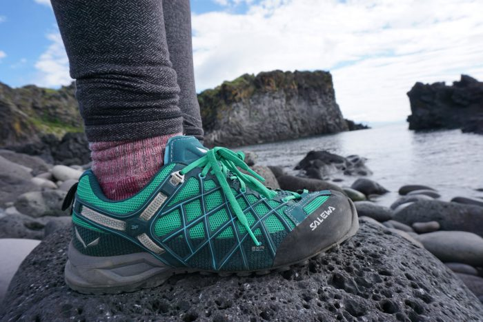 hiking shoes for iceland