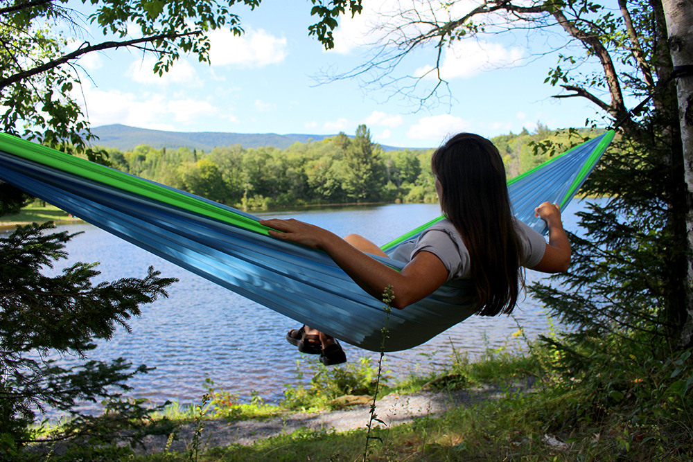 Review: US-Made Hammock Created From Plastic Bottles | GearJunkie