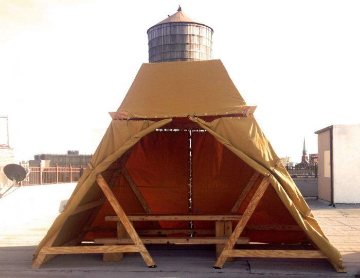 bivouac canteen tent