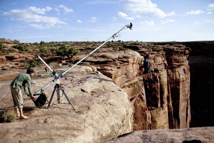 boom camera high line