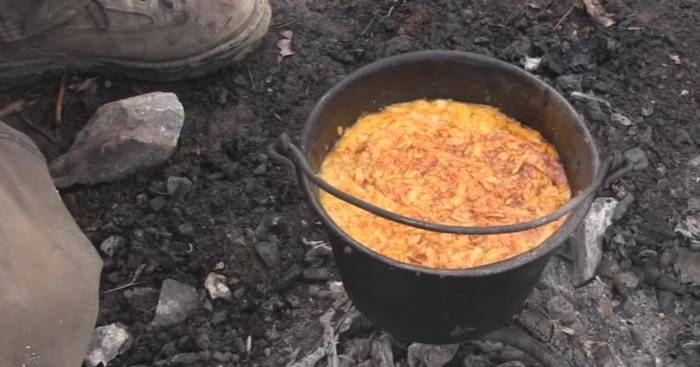 campfire scramble