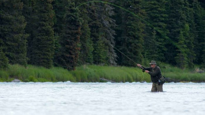 Casting For Salmon
