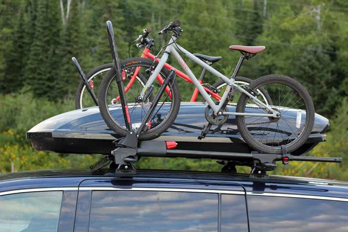 Yakima bike rack minivan on top