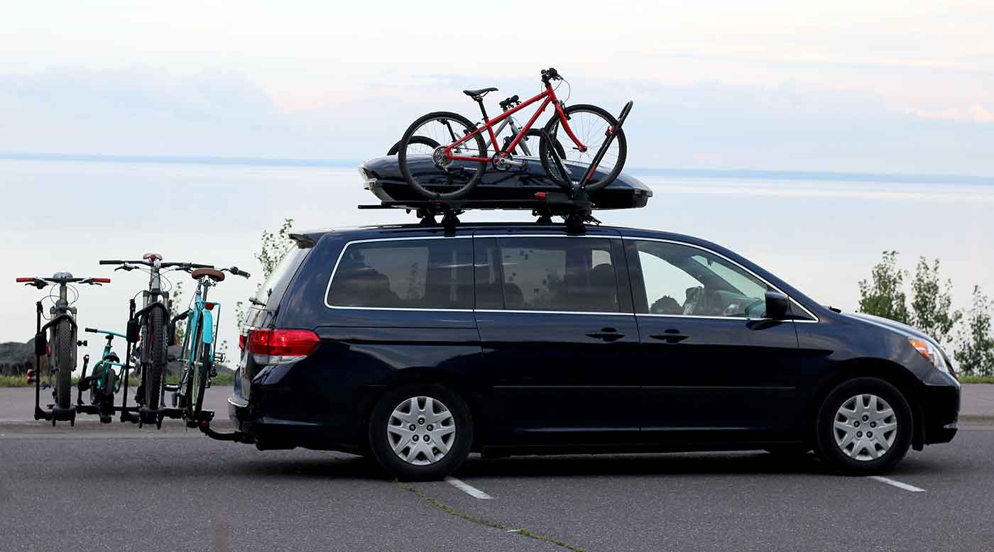 Family Hauler Minivan Modified For Kids Bikes Amp Gear