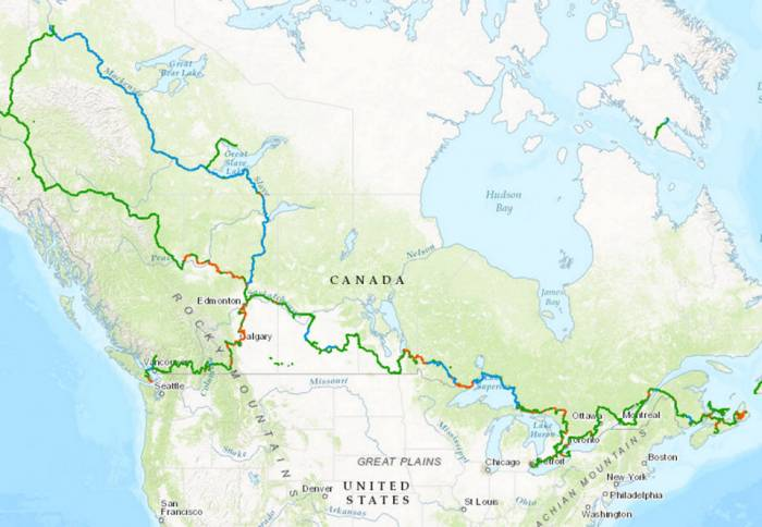 24 000 Kilometers Trans Canada Trail Longest In World Gearjunkie