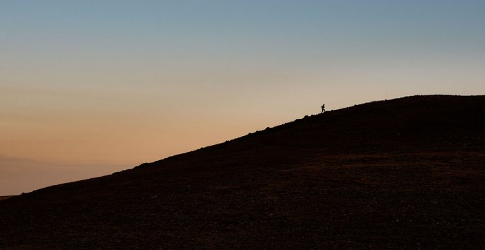uphill run