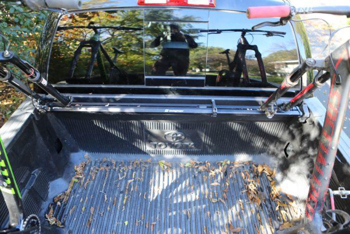 Toyota Tundra Patrol Bike Rack
