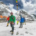 "Five sherpas launched the Alpine Rescue Service team, the focus of ""Everest Air"""