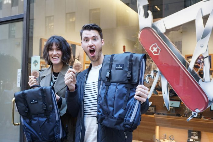 GearDrop Winners With Backpacks