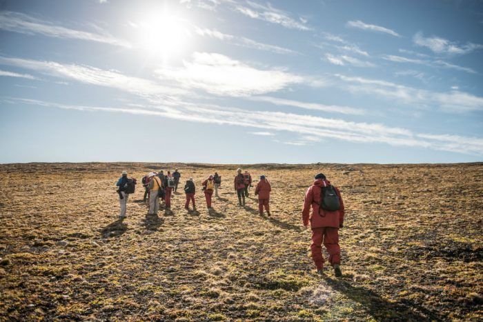 hike the canadian tundra