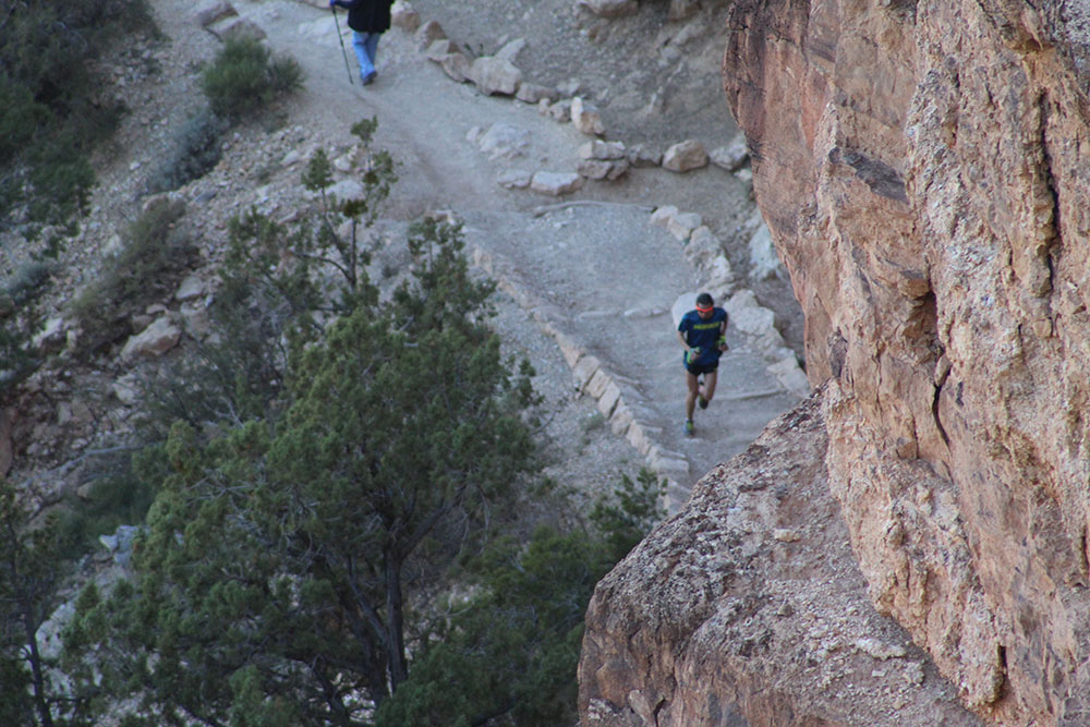 Walmsley in the Canyon. Photo by Alex Kurt
