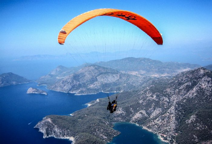 turkey paraglide