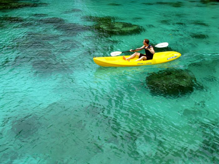 sea kayak in palawan philippines