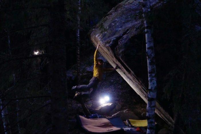 V17 Hardest problem in rock climbing