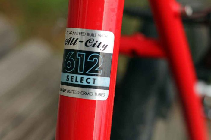 All-City bike steel