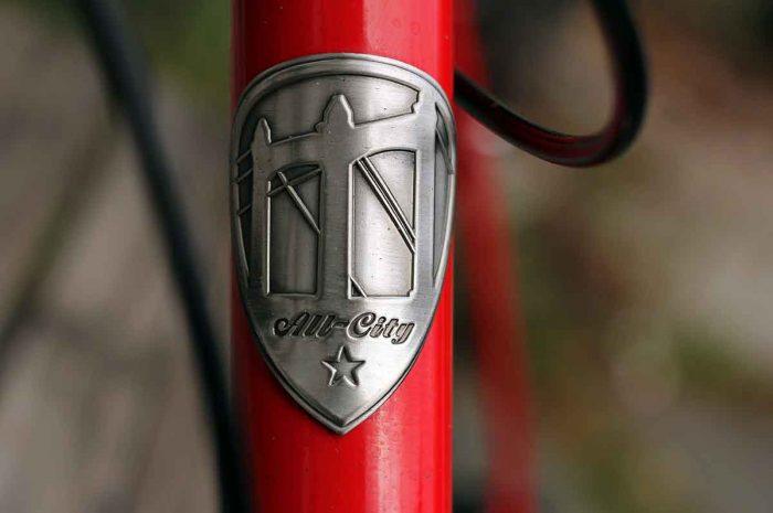 All-City bike badge