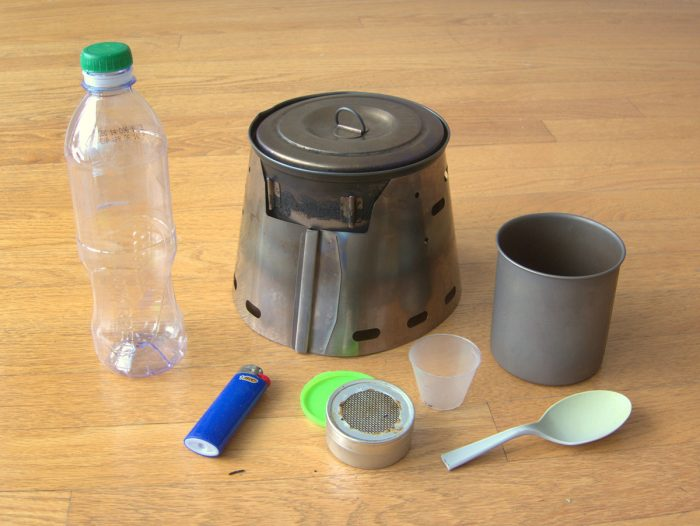 ultralight stove system