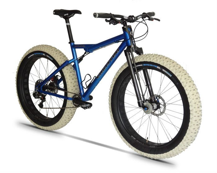World S First All Wheel Drive Fat Bike