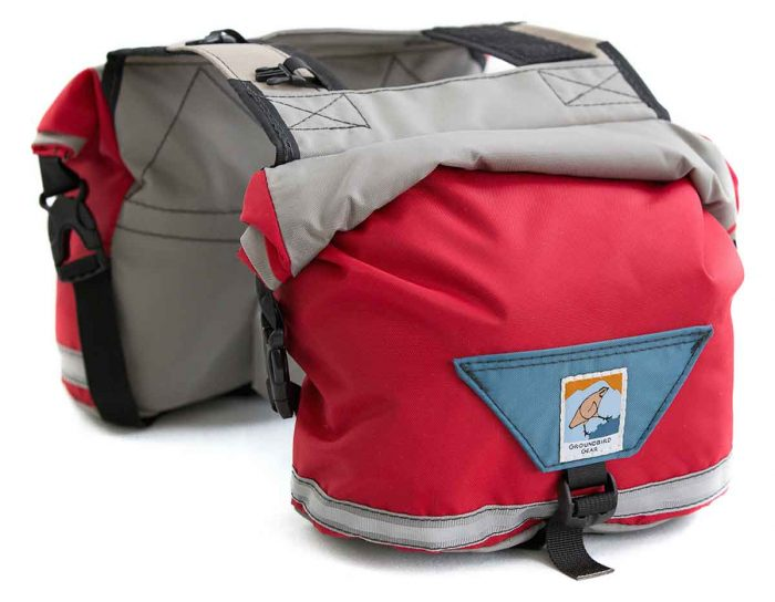 Groundbird Gear backpack for dog